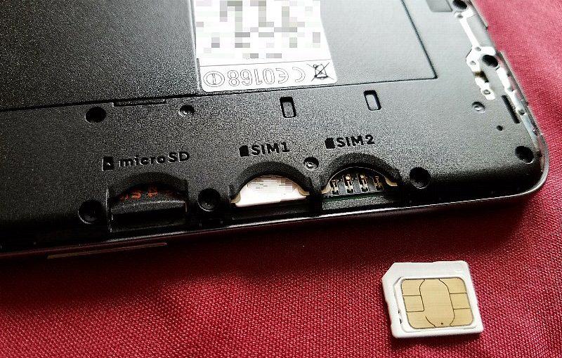 Moto G4 PlusのSIMをFOMA用SIM1枚にしました
