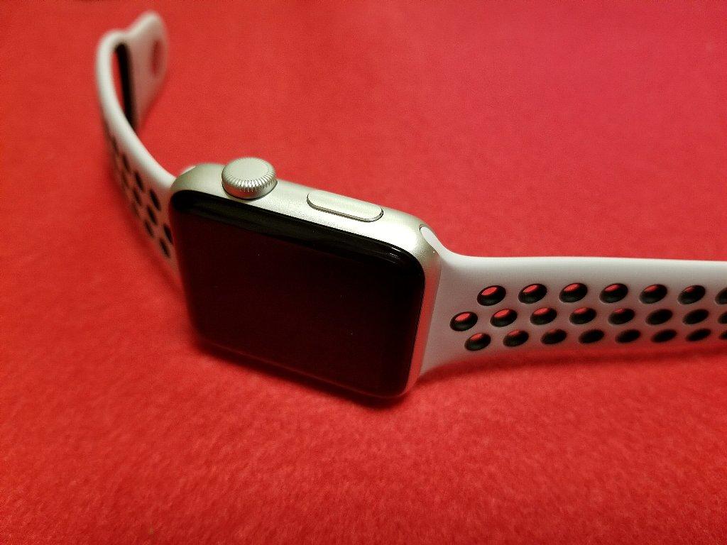 GalaxyNote8で撮影したApple Watch