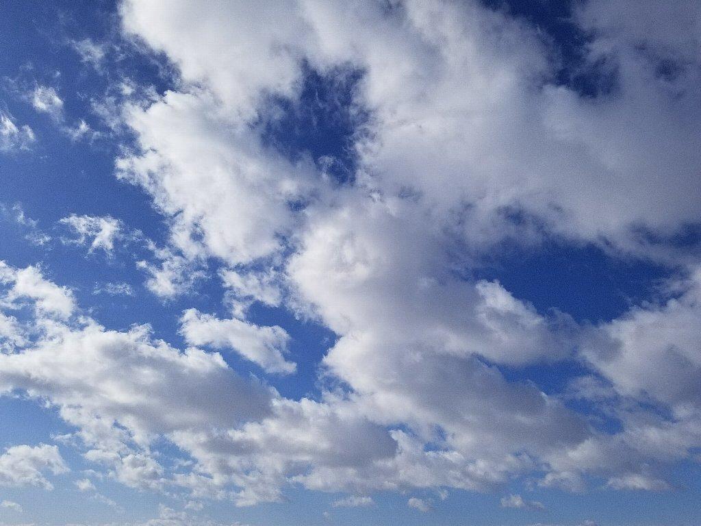 GalaxyNote8で撮影した空と雲
